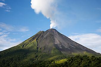 Вулкан, Коста-Рика. (Код изображения: 03013)