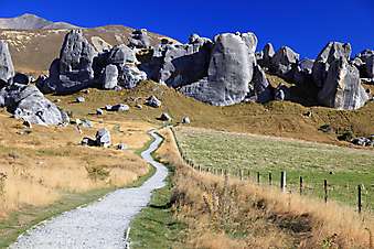 Национальный парк, Новая Зеландия. (Код изображения: 03023)