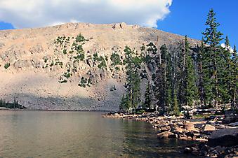 Озеро, штат Юта, США. (Код изображения: 03026)