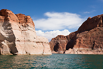 Озеро Пауэлл, Глен-Каньон, США. (Код изображения: 03028)
