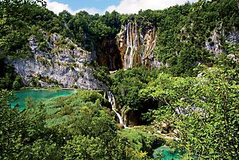 Водопад, Хорватия. (Код изображения: 03029)