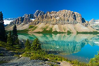 Скалистые Горы, Канада. (Код изображения: 03031)