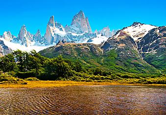 Красивый пейзаж, Аргентина. (Код изображения: 03034)