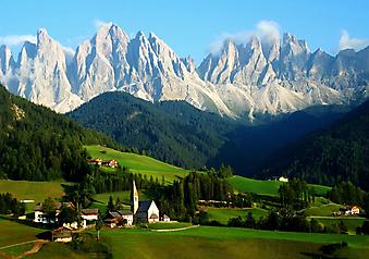 Южный Тироль, Италия. (Код изображения: 03035)