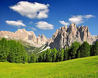 Горы, Италия. (Код изображения: 03039)