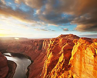Река Коларадо, Аризона. (Код изображения: 03040)