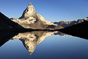 Горное озеро у Маттерхорн, Швейцария (Каталог номер: 03059)