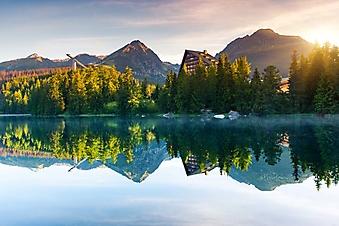 Горное озеро в Татрах, Словакия (Каталог номер: 03063)