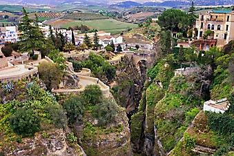 Город на скале, Испания (Каталог номер: 03071)