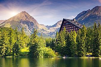 Высокогорное озеро в Высоких Татрах (Каталог номер: 03073)