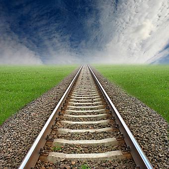 Железная дорога. (Код изображения: 06020)