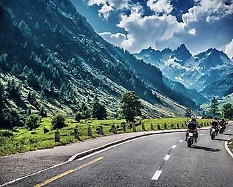 Шоссе в Альпах (Каталог номер: 06060)