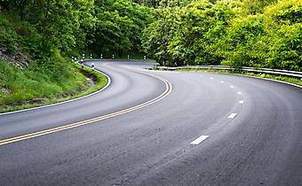 Извилистый участок на магистрали (Каталог номер: 06066)