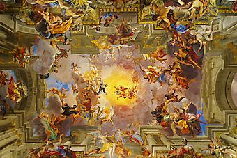 Купол церкви, Италия. (Код изображения: 12013)