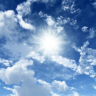 Голубое небо. (Код изображения: 12019)