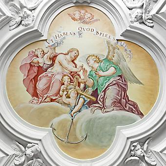 Религиозная фреска. (Код изображения: 12021)