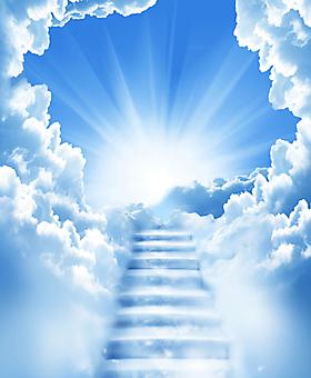 Лестница в небо. (Код изображения: 12022)