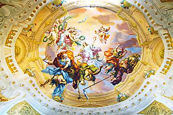 Фрески Аббатства Мельке. (Код изображения: 12032)
