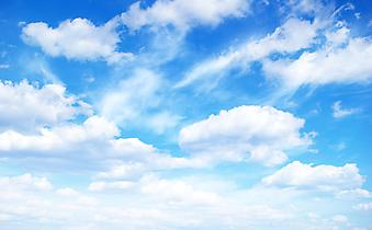 Безмятежное небо. (Код изображения: 12039)