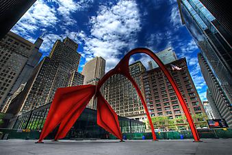 Уличная скульптура. Чикаго. (Номер по каталогу: 12046)