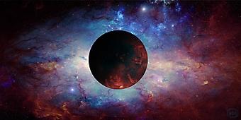 Неизвестная планета. (Код изображения: 12048)