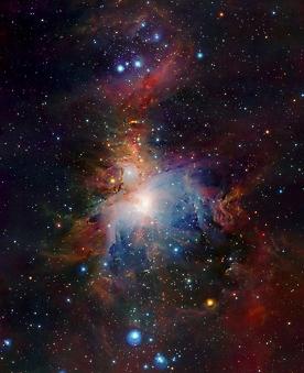 Небо. Туманность Ориона. (Код изображения: 12053)