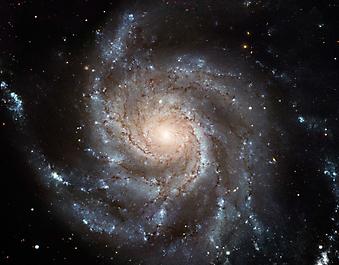 Фото спиральной галактики. (Код изображения: 12054)