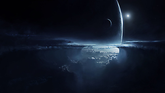 Ночное небо. (Код изображения: 12057)