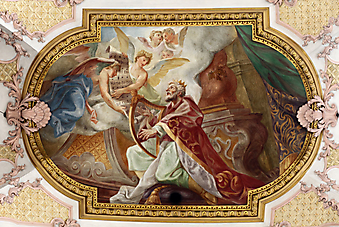 Потолочная фреска церкви святого Петра (Каталог номер: 12067)