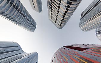 Округлые небоскребы (Каталог номер: 12089)