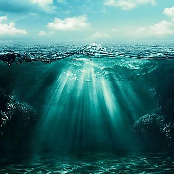 Лучи света в толще воды (Каталог номер: 07047)