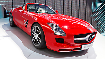 Mercedes-Benz SLS AMG. (Код изображения: 13003)