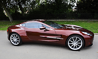 Aston Martin One-77. (Код изображения: 13004)