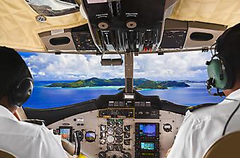 Кабина пилота. (Код изображения: 13014)