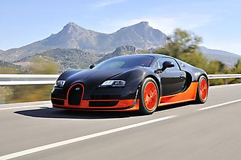 Bugatti Veyron. (Код изображения: 13016)