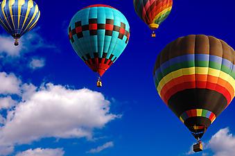 Воздушные Шары. (Код изображения: 13022)