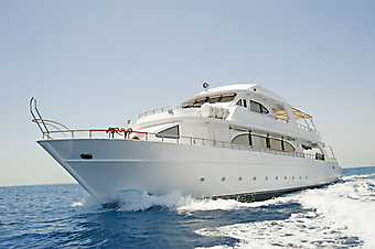 Яхта. (Код изображения: 13026)