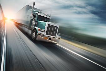 Американский грузовик. (Код изображения: 13029)