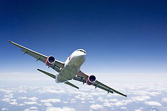 Самолет. (Код изображения: 13035)
