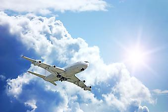 Самолет. (Код изображения: 13036)