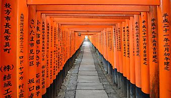Храм в Киото. (Код изображения: 14001)