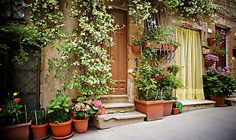 Итальянская улочка. (Код изображения: 14002)