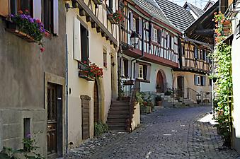 Эльзас, Франция. (Код изображения: 14003)
