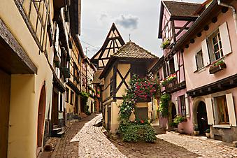 Эльзас, Франция. (Код изображения: 14007)