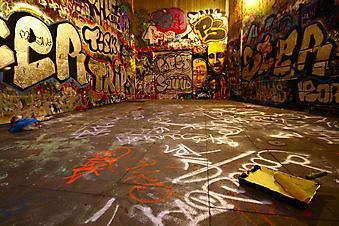 Граффити. (Код изображения: 14012)