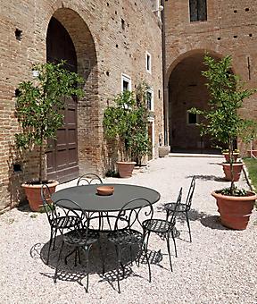 Итальянский дворик. (Код изображения: 14020)