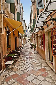 Корфу, Греция. (Код изображения: 14022)