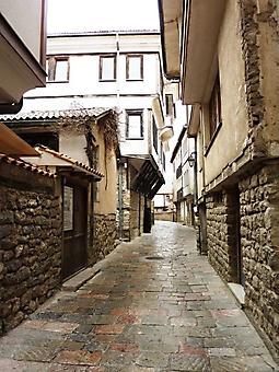 Улочка старого города, Македония (Код изображения: 14044)