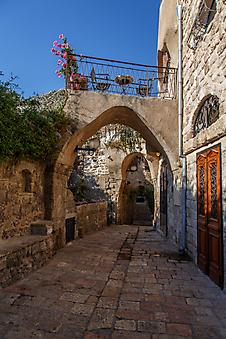 Улочка в старой части города Яффо (Код изображения: 14047)