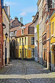 Мощеные улицы Нидерландов. (Код изображения: 14065)